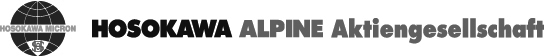Max Wild Industrievertretungen –Kunden, Hosokawa Alpine Aktiengesellschaft