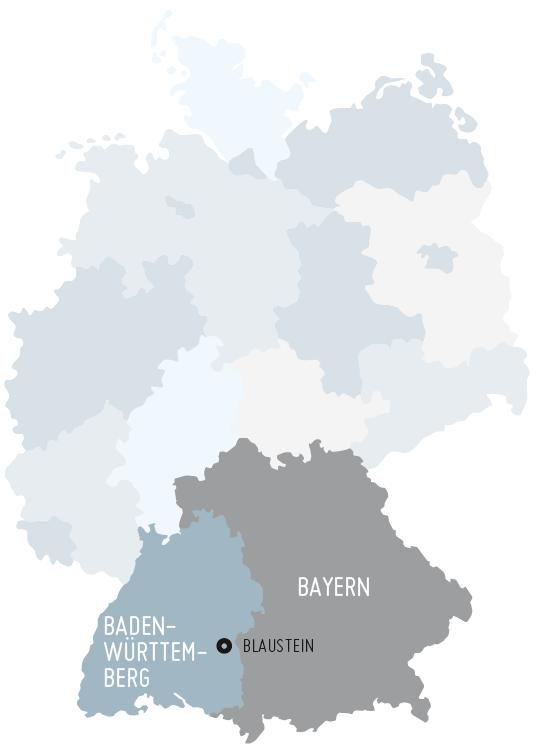 Max Wild Industrievertretungen –Karte
